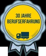 30 Jahre Berufserfahrung - Umzüge Taubenthaler